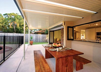 Solar awning guard flat roofs
