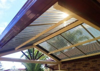gable pitched roof