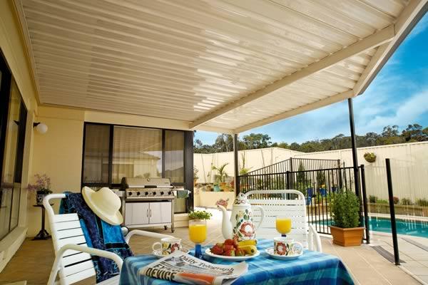 stratco verandah